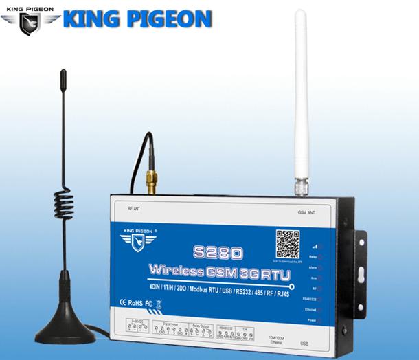 GSM 3G 4G M2M RTU S272